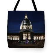 Christmas Night In Sf Tote Bag