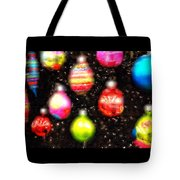Christmas Ornaments Abstract One Tote Bag