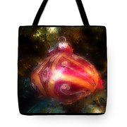 Christmas Ornaments Abstract Two Tote Bag