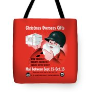 Christmas Overseas Gifts -- Ww2 Tote Bag