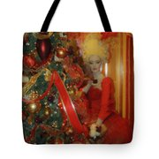 Christmas Parlor Fashions For Evergreens Event Hotel Roanoke 2009 Tote Bag