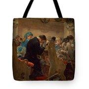 Christmas Prayers Tote Bag by Henry Bacon