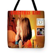Christmas Ride Family Poster By Karen E. Francis Tote Bag