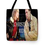 Christmas Ride Poster 16 Tote Bag