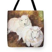 Christmas Sheep Tote Bag