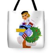 Christmas Shopping - Shop On-line Tote Bag