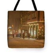Christmas Shopping Tote Bag