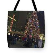 Christmas Spirit Detroit Tote Bag