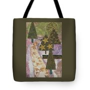 Christmas Stroll Card Tote Bag