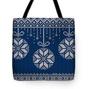 Christmas Sweater Tote Bag