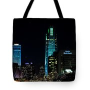 Christmas Time In Omaha Tote Bag