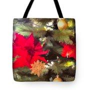 Christmas Tree 6 Tote Bag