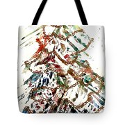 Christmas Tree Tote Bag by Dana Patterson