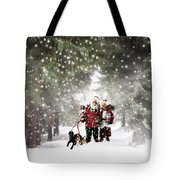 Christmas Walking Tote Bag