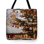 Christmastime At Tivoli Gardens Tote Bag