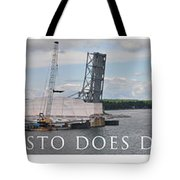 Christo Does Door County Tote Bag
