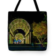 Christopher Columbus Park 3764 Tote Bag