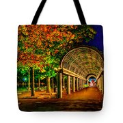Christopher Columbus Park 3766 Tote Bag