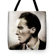 Christopher Lee, Vintage Actor Tote Bag