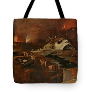 Christ's Descent Into Hell Tote Bag