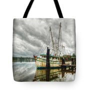 Christy Lynn On Bon Secour Tote Bag by Michael Thomas