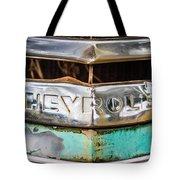 Chrome Chevrolet Tote Bag