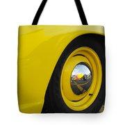 Chrome Mirror Tote Bag