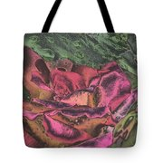 Chrome Rose 64182 Tote Bag by Brian Gryphon