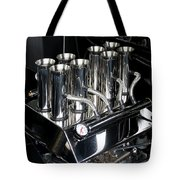 Chromed Fuel Injection Tote Bag