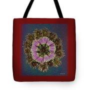 Chrysanthemum Mandala Tote Bag