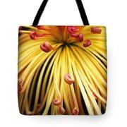 Chrysanthemum Morning Tote Bag