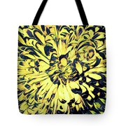 Chrysanthemum Pop Tote Bag