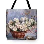 Chrysanthemums, 1878  Tote Bag