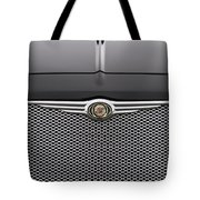 Chrysler 300 Logo And Grill Tote Bag