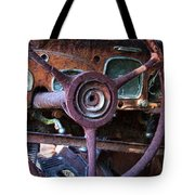 Chrysler Airflow Dashboard Painterly Impression Tote Bag