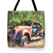 Chrysler Airflow Painterly Expression Tote Bag