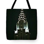 Chrysler Building In Manhattan New York City Tote Bag