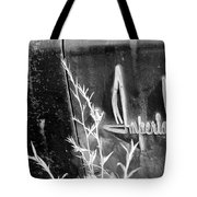 Chrysler Imperial Emblem - Bw Tote Bag