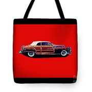 Chrysler Town And Country Convertible Roadster Tote Bag
