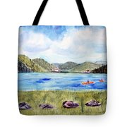 Chrystal Lake  Barton Vt  Tote Bag
