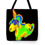 Chubby Silly Unicorn1 Tote Bag