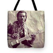 Chuck Berry, Music Legend Tote Bag