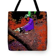 Chuck Chainsaw 2 Tote Bag