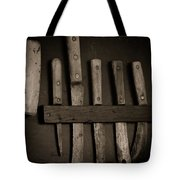 Chuck Wagon Knives Tote Bag