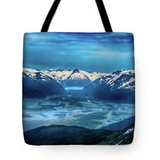 Chugach Mountain Range Tote Bag