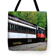 Chugging Along Tote Bag