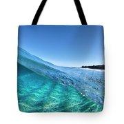 Chunk Of Blue. Tote Bag