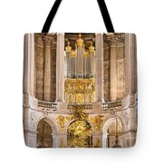 Church Altar Inside Palace Of Versailles Tote Bag