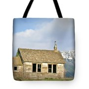 Church And School Tote Bag