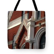 Church Architecture Tote Bag